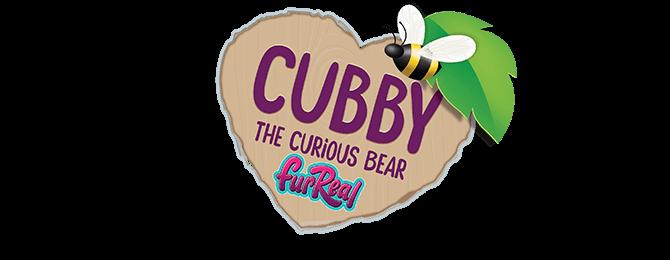 Cubby The Curious Bear Logo